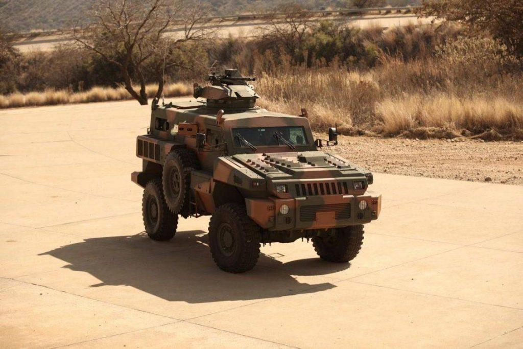 El Marauder es un producto de la compañía sudafricana Paramount Group y junto a su hermano mayor, el Matador, conseguiría cierto éxito comercial al exportarse a Jordania y Azerbaiján. El diseño de su doble casco en V ofrece protección a su tripulación de 10 tripulantes contra deflagraciones de hasta 14 kilogramos de TNT y resistir impactos de 7,62mm OTAN. Impulsado por un motor diesel Cummins de 296hp, posee una capacidad de carga de 4,5 toneladas y puede ser aerotransportado por C-130 Hércules o CH-47 Chinook.