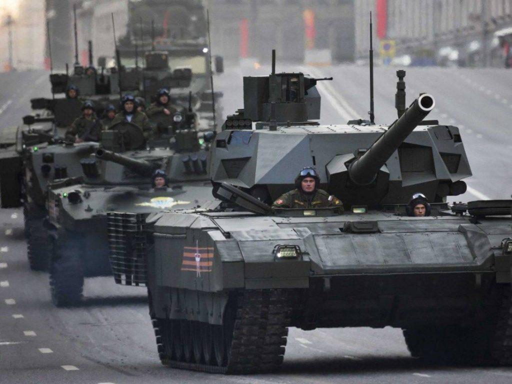 T-14 Armata parade