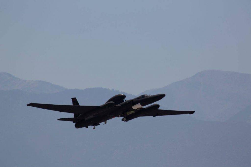 U-2 Dragon Lady empleado durante las pruebas con F-22 Raptor. Imagen: Lockheed Martin.