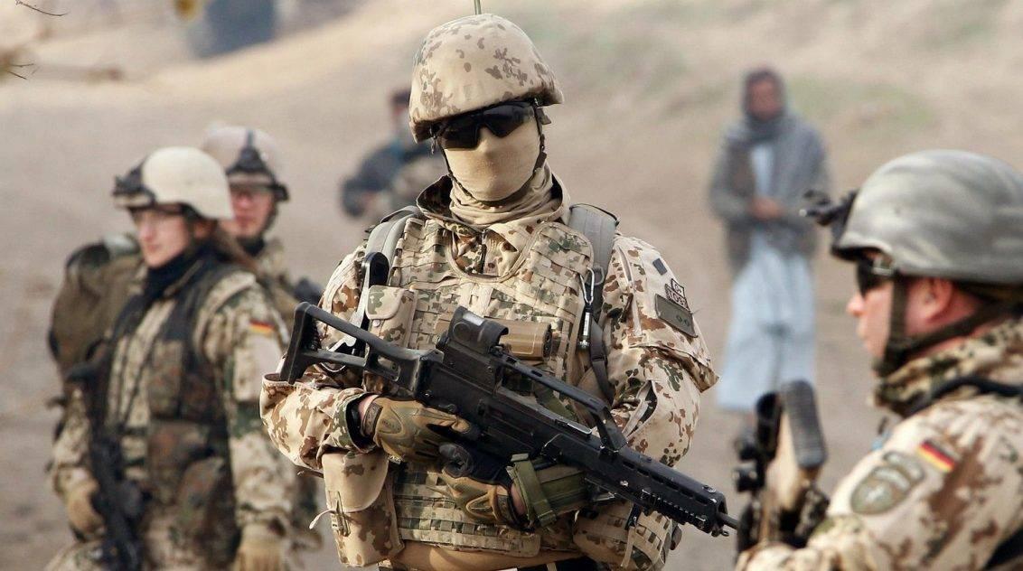 Alemania mantuvo un contingente de tropas en Afganistán, como parte de la ISAF.