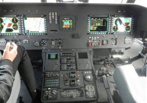 Mi-17V-5's cockpit