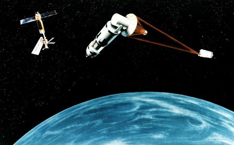 Sistema de Satélites de Defensa. Imagen: USAF.